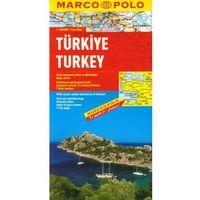 Mapy i atlasy turystyczne, Turcja mapa 1:800 000 Marco Polo (opr. twarda)