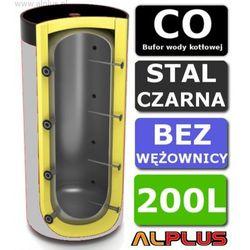 Bufor ERMET 200L Bez Wężownicy do CO - Zbiornik Buforowy Zasobnik Akumulacyjny 200 litrów, 129cm x 63cm, - Wysyłka Gratis