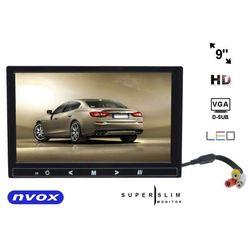 NVOX HM 910 VGA monitor samochodowy lub wolnostojący LCD 9