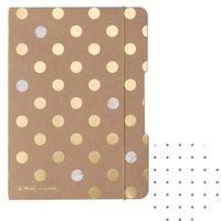 Notesy, Notes notatnik A5 My.Book Flex z gumką Pure Glam HERLITZ