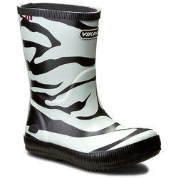 Kalosze VIKING - Classic Indie Zebra 1-14200-201 Black/White