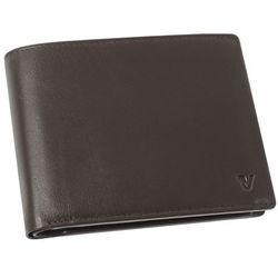 Roncato Pascal 41_2901_44 portfel męski skórzany / brązowy - brązowy