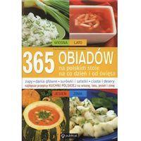 Książki kulinarne i przepisy, 365 obiadów na polskim stole - Ewa Aszkiewicz, Romana Chojnacka (opr. twarda)