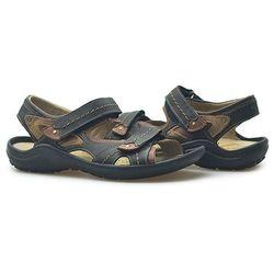 Sandały Krisbut 1065-1 Czarne lico