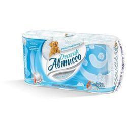 Papier toaletowy Almusso Decorato, 3 warstwy, celuloza - 36 rolek
