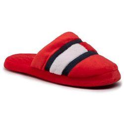 Kapcie TOMMY HILFIGER - Slipper Red T3B0-30975-1064 S Red 300