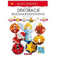 Książki dla dzieci, Dekoracje bożonarodzeniowe Wycinanki (opr. kartonowa)