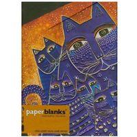 Notesy, Notatnik Midi Mediterranean Cats Wrap w linie