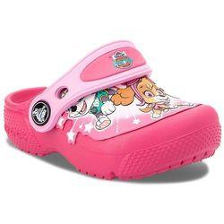 Klapki CROCS - Funlab Paw Patrol Clogs Ps G 205204 Vibrant Pink