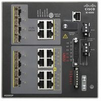 Switche i huby, IE-4000-4GS8GP4G-E Switch Cisco IE4000 4GE SFP, 8GE PoE+ and 4GE combo uplink ports