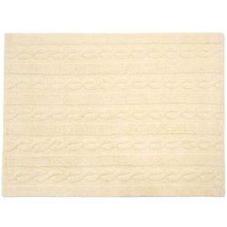 Dywan bawełniany TRENZAS - różne kolory - Lorena Canals waniliowy, 80 x 120 cm