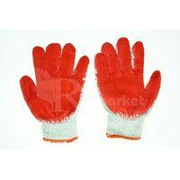 Rękawice ochronne, Rękawice robocze WAMPIRKI L czerwone (600 par) - 600par \ 9 ||L