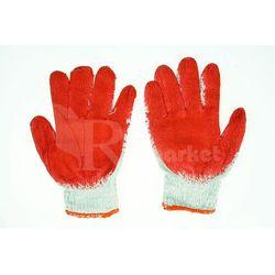 Rękawice robocze WAMPIRKI L czerwone (600 par) - 600par \ 9 ||L