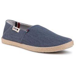 Espadryle TOMMY JEANS - Summer Jean Shoe EM0EM00524 Grey Dusk PO7