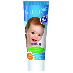 Brush-Baby Appelmint - Pasta na ząbkowanie dla dzieci 0-2l, bez SLS, jabłkowo-miętowa