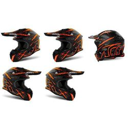 Kask AIROH TERMINATOR OPEN VISION CARNAGE ORG