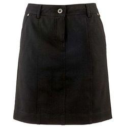 Spódnica ze stretchem bonprix czarny