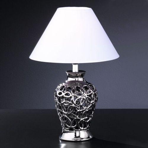 Lampy stołowe, Honsel Coco lampa stołowa Chrom, 1-punktowy