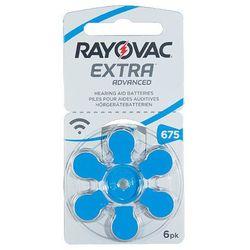 Rayovac Extra 675 EMF / PR44 baterie do aparatów słuchowych - 6szt.