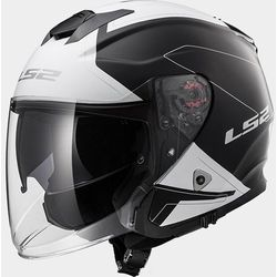KASK LS2 OF521 INFINITY BEYOND MATT BLACK WHITE