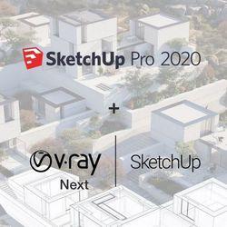 SketchUp Pro 2020 PL + V-Ray + Skatter