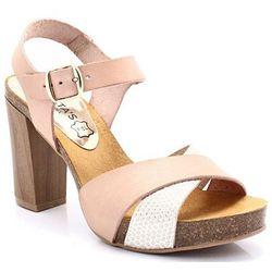 MARIETTAS 7890 RÓŻOWE - Hiszpańskie sandały - Różowy ||Multikolor DZIEŃ CZEKOLADY - 20% (-25%)