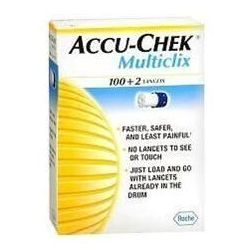 LANCET ACCU-CHEK Multiclix x 102 sztuki