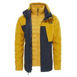 Kurtka 3w1 MOUNTAIN LIGHT TRICLIMATE MEN - asphalt grey/arrowwood yellow