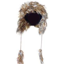 1 Kiddy czapka uszatka futrzana brązowa