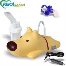 Inhalator tłokowy - Rossmax Nl 60Q (Piesek) - Smoczek Gratis