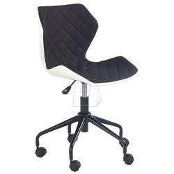 Fotel młodzieżowy Halmar Matrix czarny - gwarancja bezpiecznych zakupów - WYSYŁKA 24H