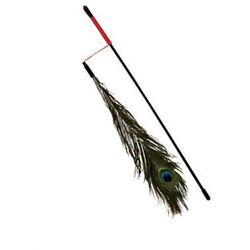 TRIXIE Wędka z pawim piórem 47cm 4509