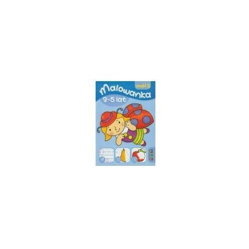 Książki dla dzieci, Malowanka 3-5 lat część 2 (opr. miękka)