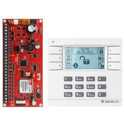 "ZESTAW ""GENEVO"" PRiMA16SET centrala alarmowa PRiMA 16 z manipulatorem PRiMA LCD"