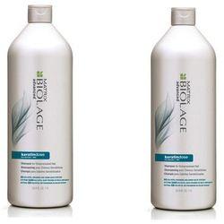 Matrix Zestaw Biolage Advanced Keratindose - szampon do włosów uwrażliwionych 1000ml x2