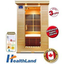 V-Garden Infrasauna Healthland DeLUXE 2002 CARBON - BEZPŁATNY ODBIÓR: WROCŁAW!