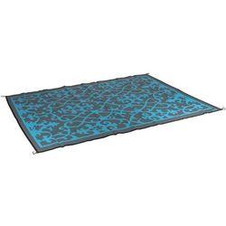 Koc plażowy dwustronny - Chill mat Picnic - 2 x 2,7m - Niebieski