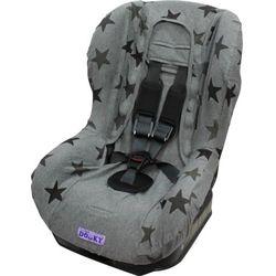 Pokrowiec do fotelika 9-18kg Dooky - Grey Stars T-XP-126826