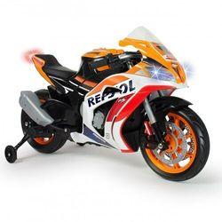 Honda motor na akumulator repsol 12v mp3 światło injusa