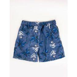 Szorty plażowe męskie w palmy XL