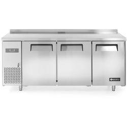 Stół chłodniczy 3-drzwiowy z agregatem bocznym, 1800x600x850 mm | HENDI, Kitchen Line 600