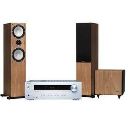 Zestaw stereo ONKYO TX-8220S + TANNOY Mercury 7.4 Dąb + sub TS 2.8