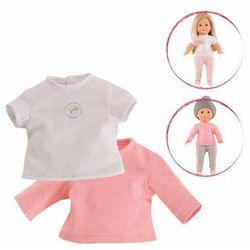 Ubranko dla lalki Ma Corolle 36 cm - Zestaw bluzeczek White&Pink 887961221206