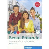 Książki do nauki języka, Beste Freunde B1.2 AB + CD wersja niemiecka HUEBER - Praca zbiorowa (opr. broszurowa)