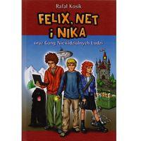 Książki dla dzieci, Felix, Net i Nika oraz Gang Niewidzialnych Ludzi. Tom 1 (opr. broszurowa)