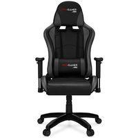Fotele dla graczy, Fotel gamingowy FALCON szary PRO-GAMER dla graczy PODKŁADKA PRO-GAMER 80x45cm GRATIS