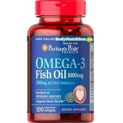 OMEGA 3 FISH OIL (1000 MG), 100 KAPS., PURITAN'S PRIDE