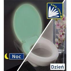 Fluorescencyjna deska sedesowa GLOW - Thermoplast, biała, WENKO