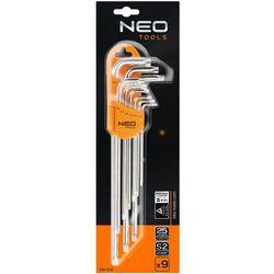 Zestaw kluczy torx NEO 09-516 T10 - T50 (9 elementów)