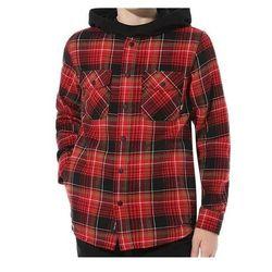 koszula VANS - Mn Parkway Black/Chili Pepper (A2T) rozmiar: L